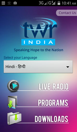 TWR India Media – Speaking Hope to the Nation